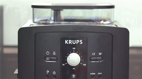 Krups Kaffeemaschine Anleitung by Krups Ea 8000 Im Test Kaffeevollautomaten Im Vergleich