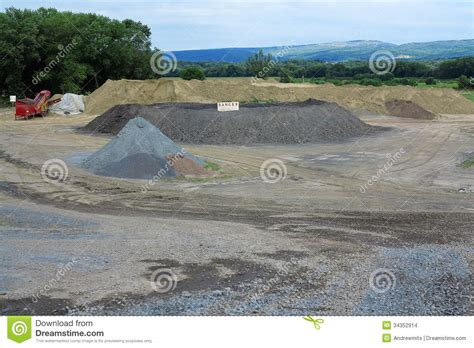 Idaho Sand And Gravel Sand And Gravel Pit Stock Images Image 34352914