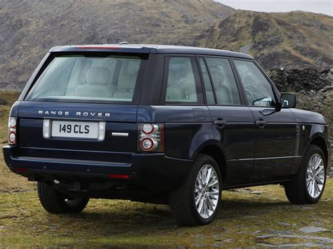 range rover rear automotive database range rover l322