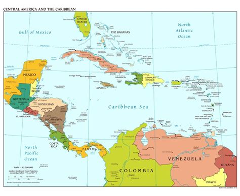 mexico america map and central america map roundtripticket me