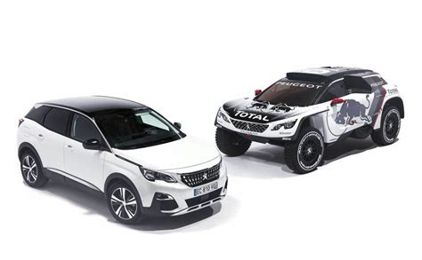 peugeot 3008 white 2017 peugeot s 2017 dakar entry looks angry the 3008 dkr