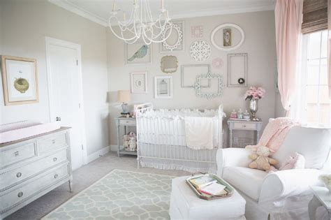 dainty soft and sweet nursery shabby chic pink project nursery and nursery