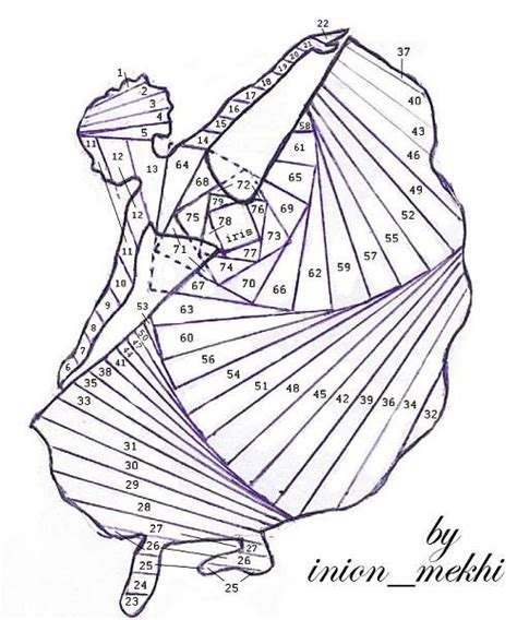 Iris Folding Papers Free - 1000 ideas about faltung on ziehharmonika