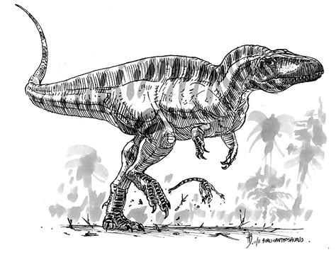 acrocanthosaurus atokensis by dustdevil on deviantart