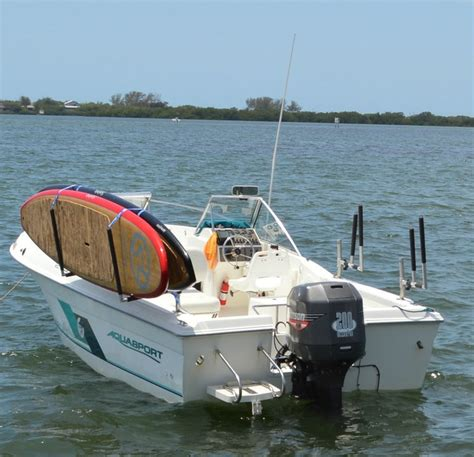 sup boat sup rack for fishing boats the outracker