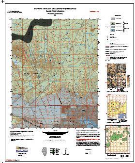 kentucky bedrock map illinois state geological survey bedrock geology of