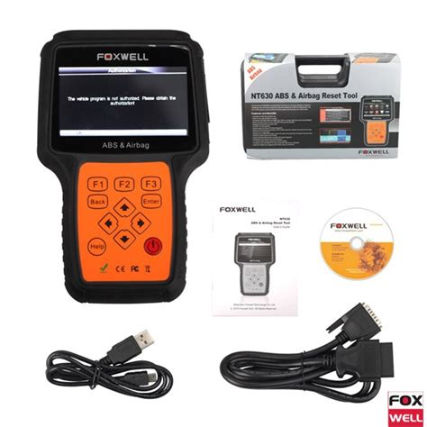 dodge ram abs light reset foxwell nt630 abs airbag reset tool test report ok and
