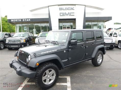charcoal grey jeep rubicon 2010 jeep wrangler unlimited rubicon 4x4 in dark charcoal
