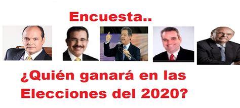quien ganar las elecciones presidenciales del 2012 en encuesta 191 qui 233 n ganar 225 en las elecciones del 2020