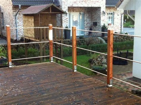 terrassengelaender einfach und individuell