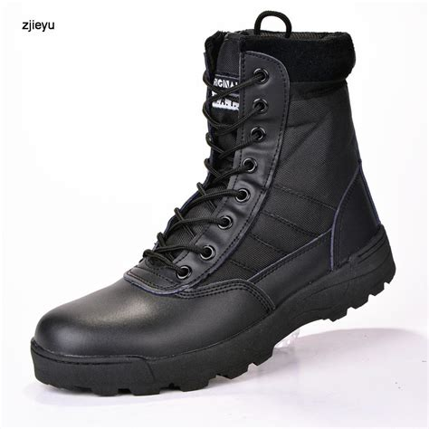Sepatu Timberland Boot Black Army by Leather Boots For Combat Army Shoes Ebay