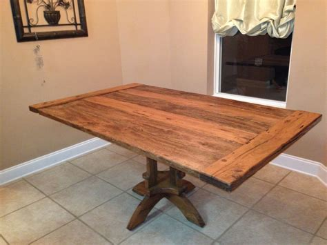handmade kitchen table by vintage woodworks of navarre