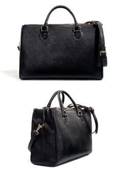 Zara Office Basic City Bag zara mini office city bag handbags mini