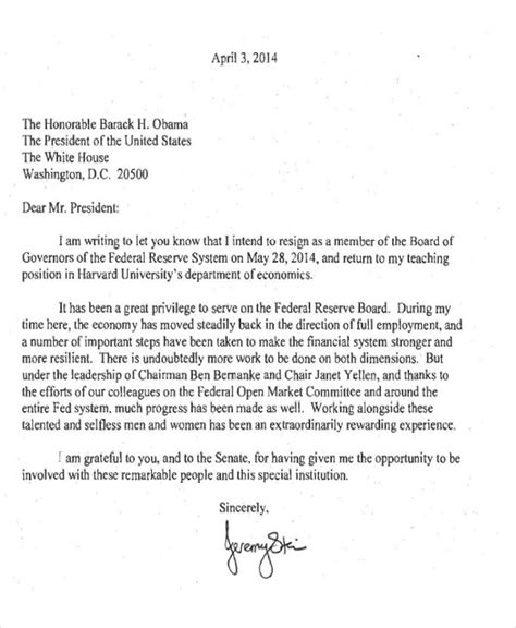 sample resignation letter templates ms word