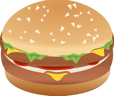 hamburger clipart clipart hamburger burger remix with colors