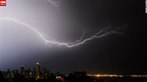 seattle lightning map the odds of 44 army rangers being struck by lightning cnn