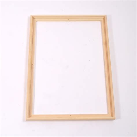 Frame 1744 Box Resleting 2 2 wooden canvas floater frames 60x80cm shadow box for stretched canves ebay