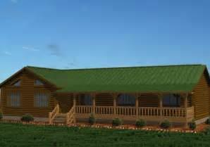 Single Story Cabins Single Story Log Homes Floor Plans Kits Battle Creek