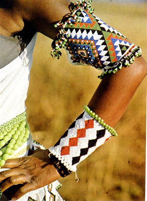 zulu beadwork anklets wristlets