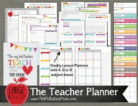 free printable teacher s planner my 2015 printable planner solution plus a giveaway