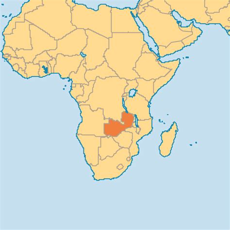 zambia map zambia operation world