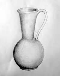 imagenes de jarrones a lapiz lecciones de dibujo sombreado luces y sombras en el