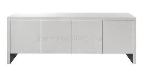 White Gloss Buffet Gio Buffet In High Gloss White W Glass Shelves By Whiteline