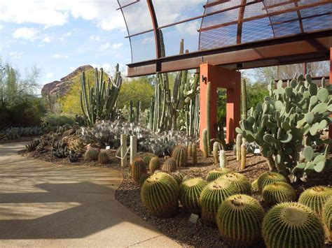 New Garden Restaurant Az by Desert Botanical Garden Central Arizona