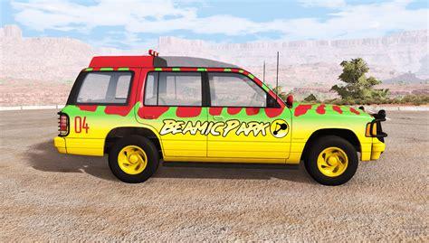 jurassic park tour car gavril roamer tour car jurassic park v1 0 for beamng drive