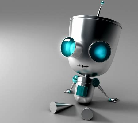 abstract wallpaper robot cute robot 3d and cg abstract background wallpapers on