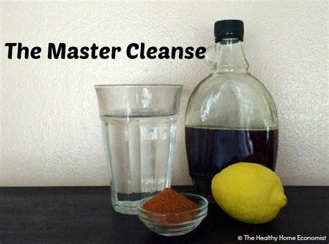 At Home Detox by The Master Cleanse Detox Or Beneficial Fast The