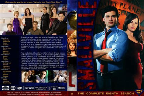 Smallville Season 8 smallville season 8 tv dvd custom covers smallville