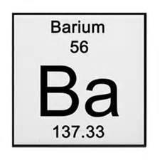 periodic table barium coasters cork puzzle tile