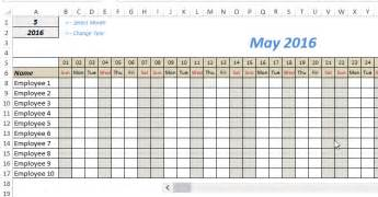 vacation tracker template 9 employee vacation tracker templates excel templates