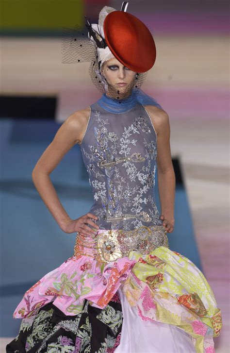 Runway Report Christian Lacroix Couture by Christian Lacroix At Couture 2002 Livingly