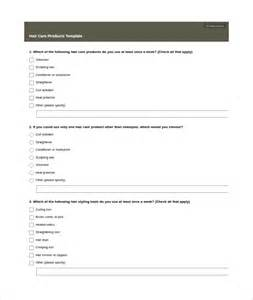 product survey template 7 download free documents in