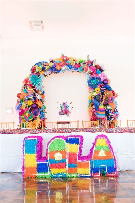 Colorful Fiesta Theme Quinceanera   Pretty My Party