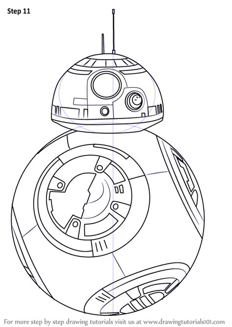 lego bb 8 coloring page learn how to draw bb 8 from star wars star wars step by