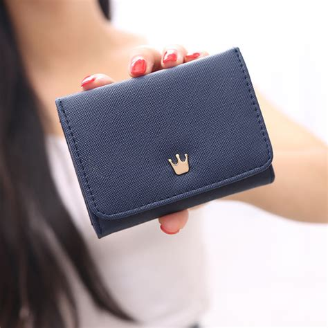 Dompet Crown dompet wanita model crown blue jakartanotebook