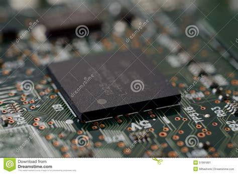 pcb layout for bga close up csp micro bga on pcb stock photo image 51991891