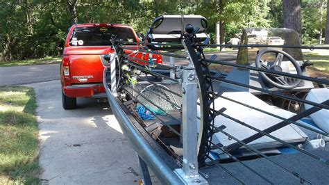 boat transport racks elite rod holders