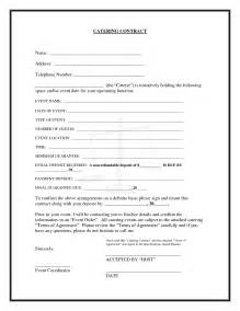 template of 20 printable blank contract template exles thogati