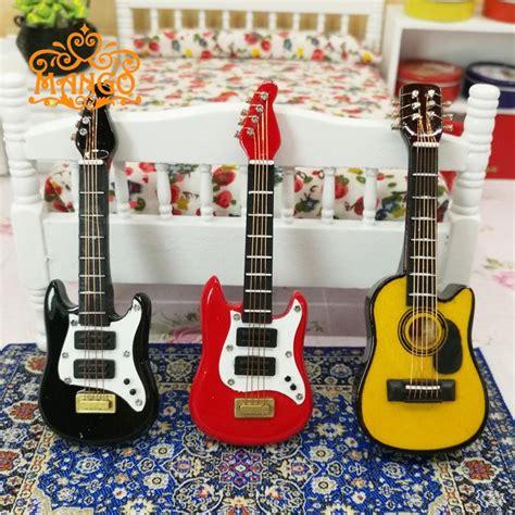 Electric Guitar Miniatur 3d Metal Puzzle buy wholesale miniature musical instruments from