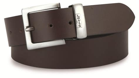 levis 4170 leather belt brown 163 28 80 and