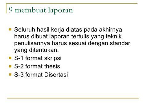 format laporan riset mpi metode riset pertemuan 2