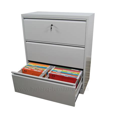 3 drawer lateral office cabinet luoyang hefeng furniture