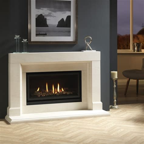 Portuguese Limestone Fireplace by Valor Inspire 05800fsd6 800 Inset Gas With
