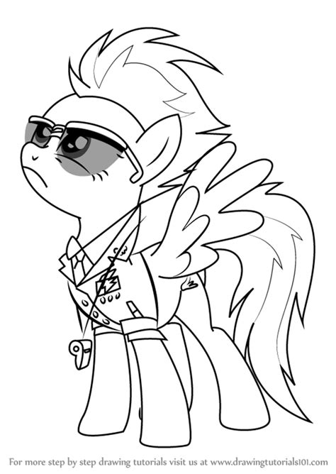 my little pony coloring pages spitfire learn how to draw spitfire from my little pony