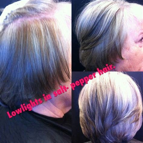 how to apply lowlights to gray hair how to use low lights to blend gray hair how to use
