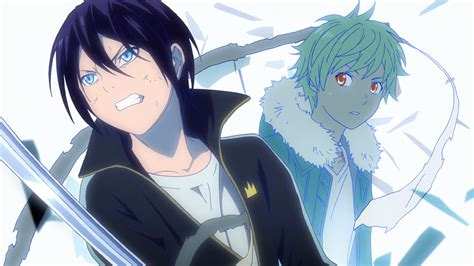 noragami aragoto is an action anime in a world of gods and